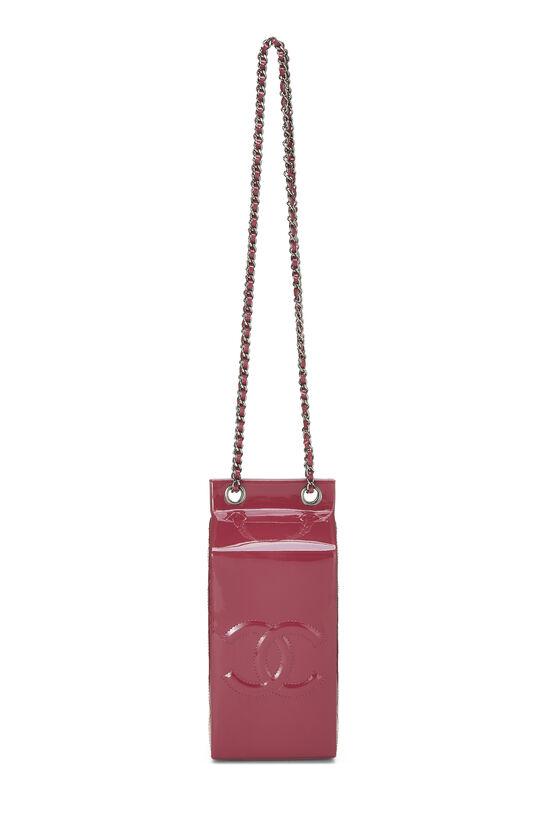 Pink Patent Leather Milk Carton Bag, , large image number 6