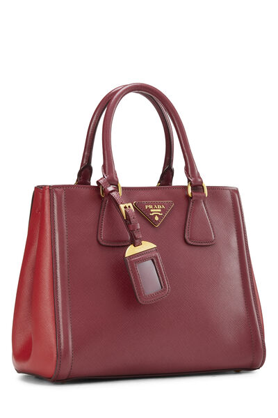 Red Saffiano East West Tote Small, , large