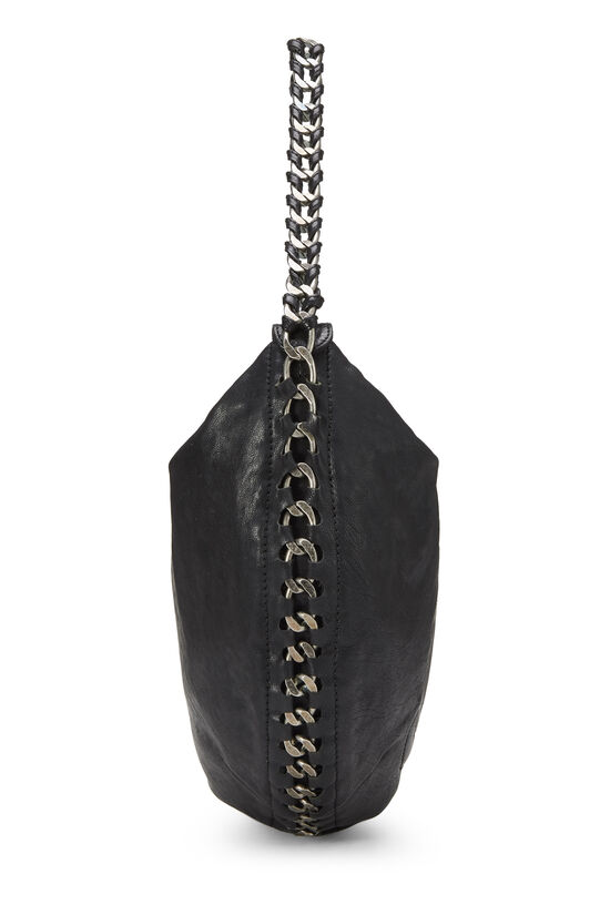 Black Calfskin Chain Hobo, , large image number 2