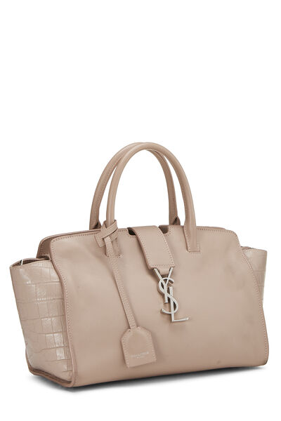 Pink Leather Downtown Cabas Small, , large