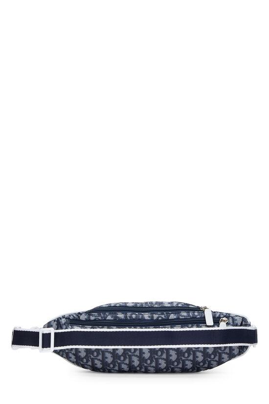 Navy Trotter Nylon Varsity Belt Bag, , large image number 3