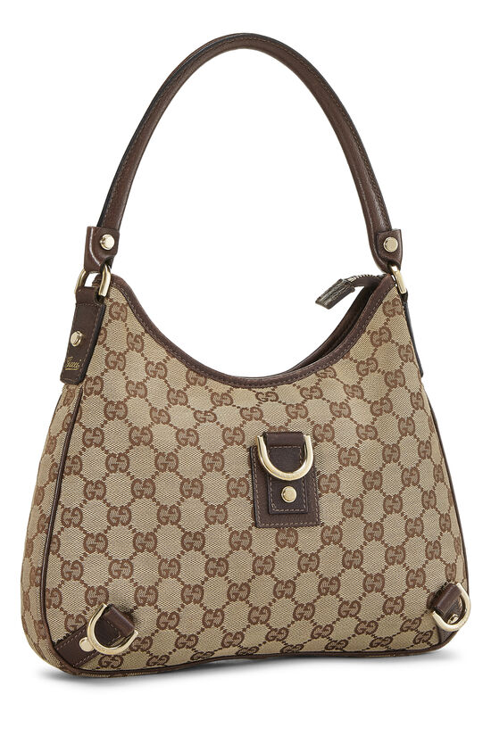 Original GG Canvas Abbey Hobo Small, , large image number 1