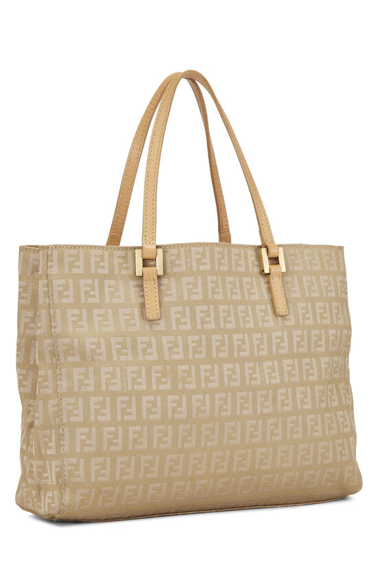 Beige Zucchino Canvas Shopping Tote Small, , large image number 1