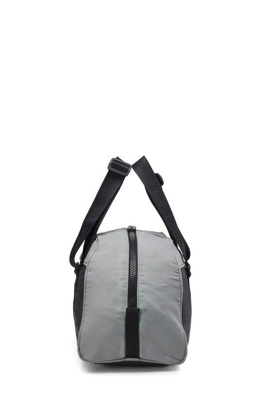 Black & Grey Nylon Sportline Duffle, , large image number 2