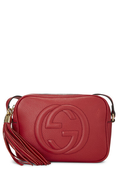 Red Grained Leather Soho Disco