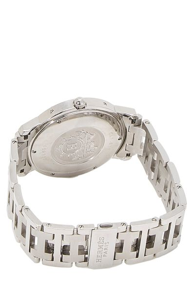 Grey & Stainless Steel Clipper Watch GM, , large