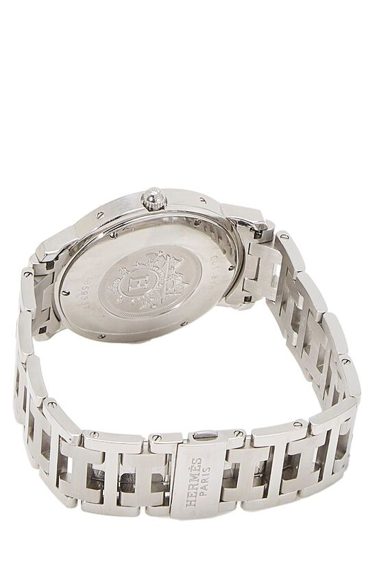 Grey & Stainless Steel Clipper Watch GM, , large image number 1