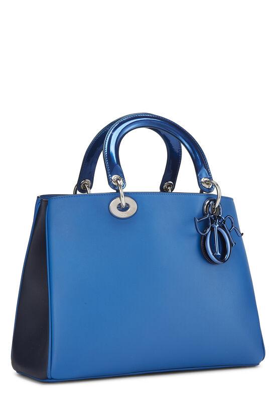Blue Leather Diorissimo Medium, , large image number 1