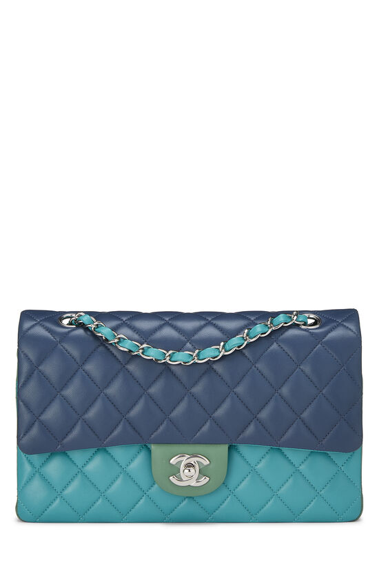 Multicolor Quilted Lambskin Classic Double Flap Medium, , large image number 0