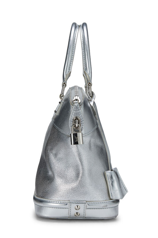 Silver Suhali Leather Lockit PM, , large image number 2
