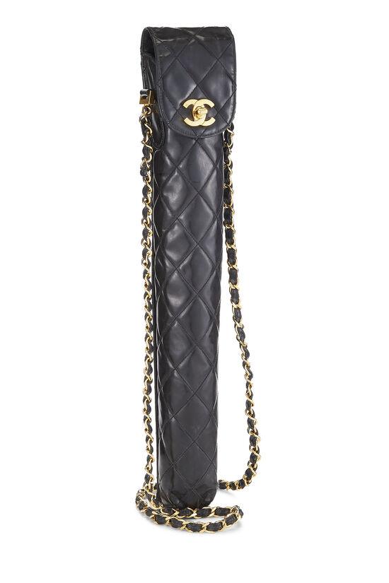 Black Patent Leather Umbrella Carrier, , large image number 1