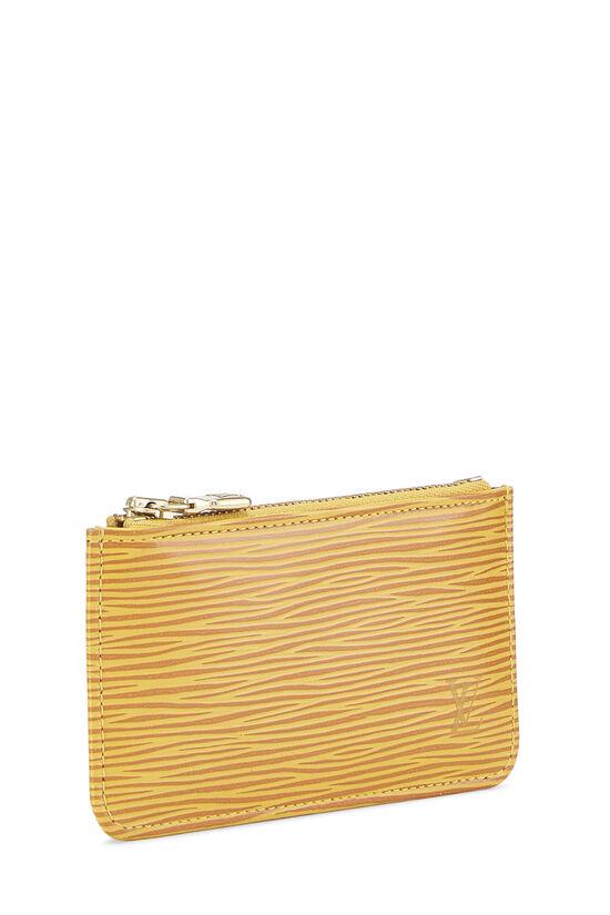 Tassil Yellow Epi Pochette Clefs, , large image number 1