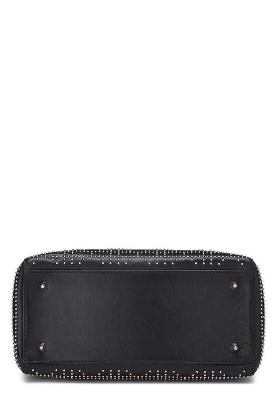 Black Cannage Studded Lambskin Lady Dior Medium, , large image number 5