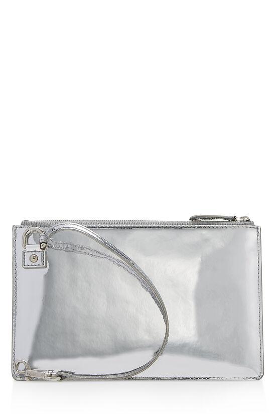 Silver Miroir Pochette Pratt, , large image number 2