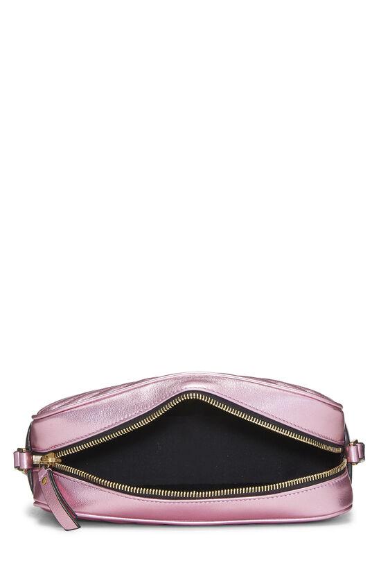 Metallic Pink Quilted Calfskin Lou Camera Bag, , large image number 6