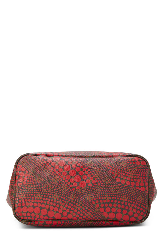 Yayoi Kusama x Louis Vuitton Red Monogram Dots Infinity Neverfull MM, , large image number 4