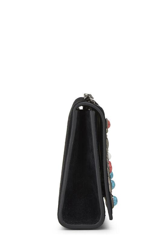Black Suede Embellished Kate Small, , large image number 2