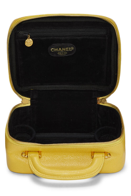 Yellow Caviar Lunch Box Vanity, , large image number 6