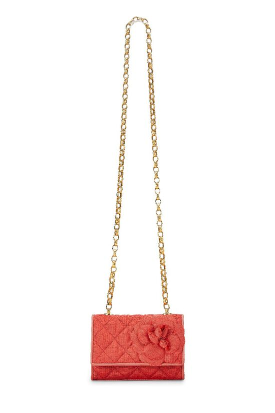 Red Quilted Flower Flap Mini, , large image number 13