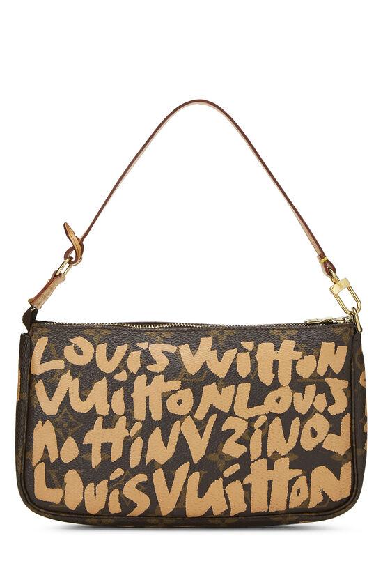 Stephen Sprouse x Louis Vuitton Beige Monogram Graffiti Pochette Accessoires, , large image number 3