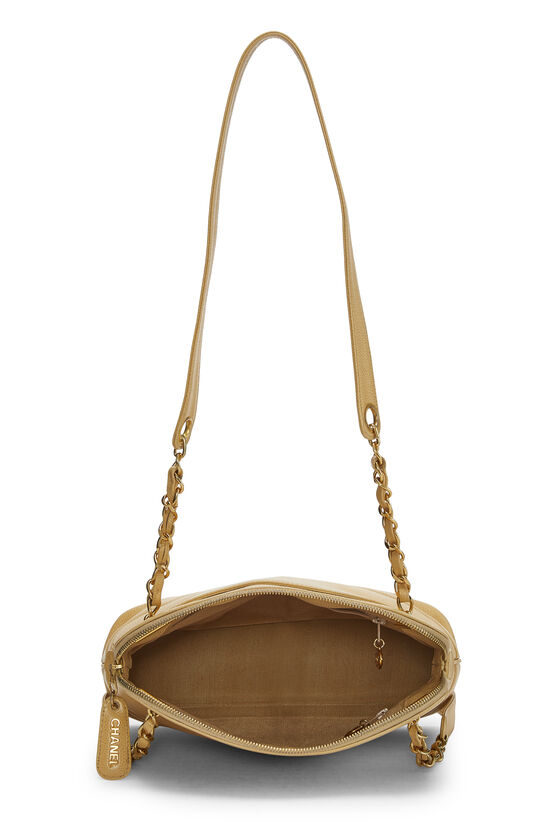 Beige Caviar Tote Small, , large image number 5