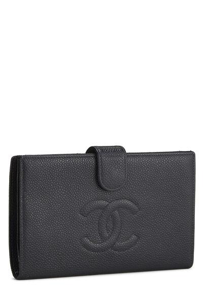 Black Caviar Timeless 'CC' Wallet, , large