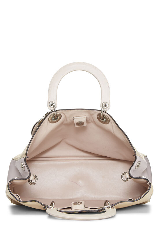 Cream Leather Diorissimo Large, , large image number 5