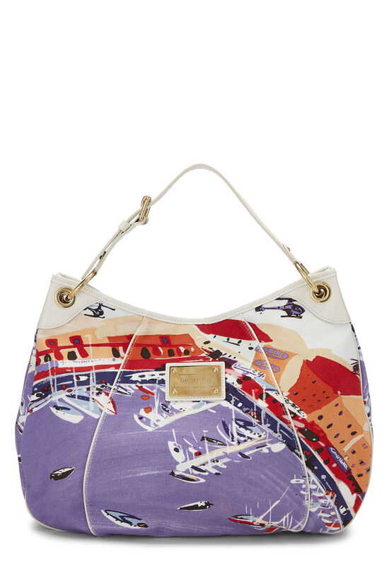 Multicolor Canvas Riviera Galliera GM, , large image number 0