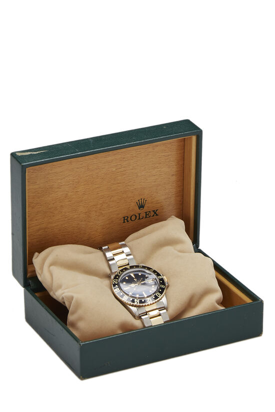 Stainless Steel & 14K Yellow Gold GMT-Master 1675 40mm, , large image number 3