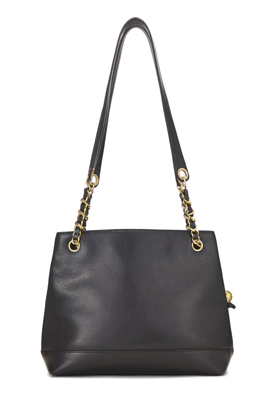 Black Caviar 'CC' Tote Small, , large image number 3