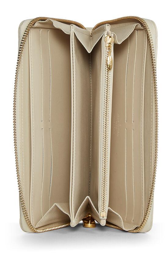 Stephen Sprouse x Louis Vuitton Blanc Corail Vernis Leopard Zippy Continental Wallet, , large image number 3
