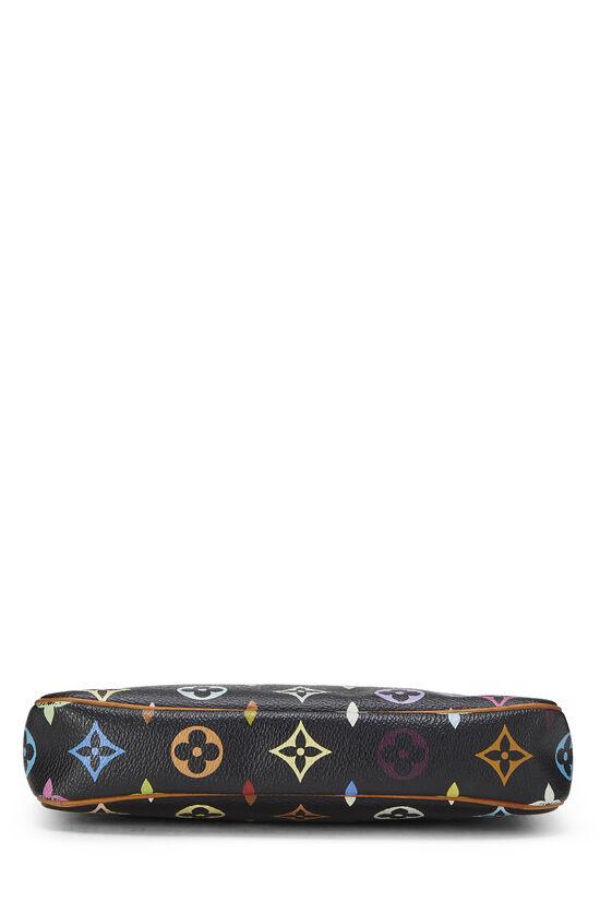 Takashi Murakami x Louis Vuitton Black Monogram Multicolore Pochette Accessoires, , large image number 4