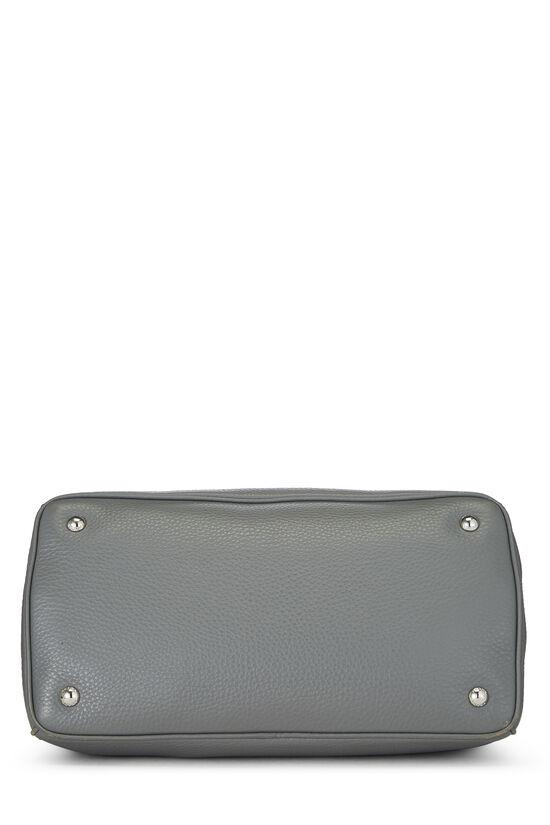 Grey Vitello Daino Handbag, , large image number 4