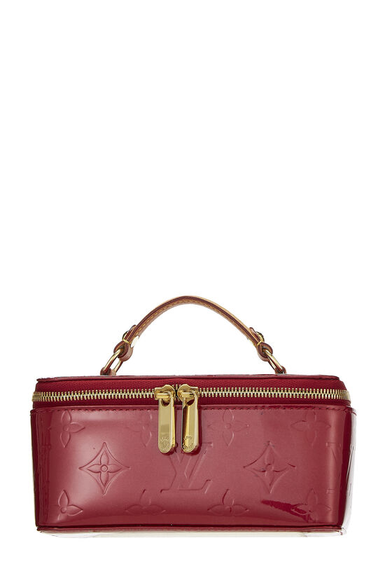 Pomme D'Amour Monogram Vernis Jewelry Case Mini, , large image number 0