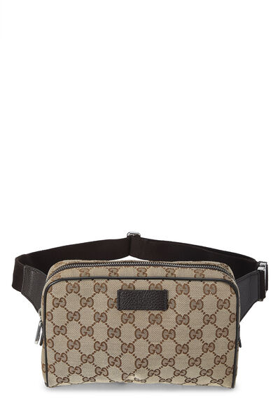 Original GG Canvas Belt Bag Small
