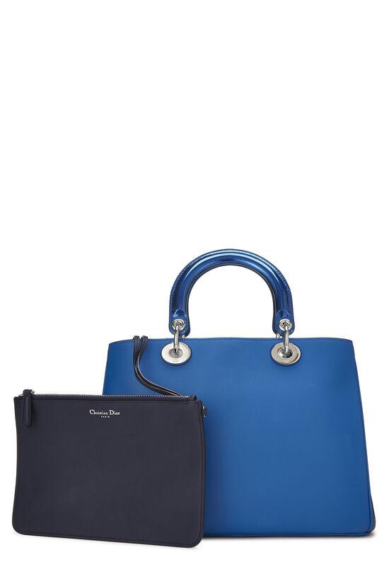 Blue Leather Diorissimo Medium, , large image number 3