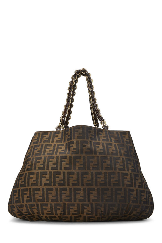 Brown Zucca Canvas Mia Hobo Large, , large image number 3