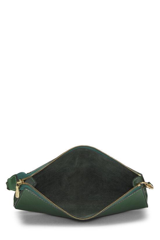 Borneo Green Epi Pochette Accessoires, , large image number 5