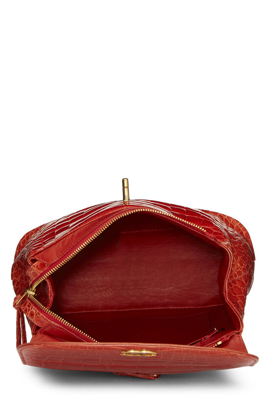 Orange Alligator Backpack, , large image number 5