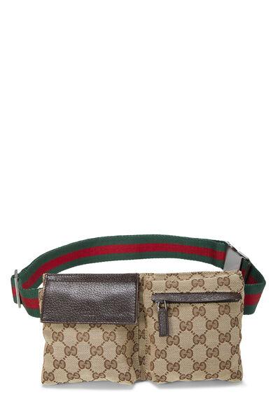 Original GG Canvas Web Belt Bag
