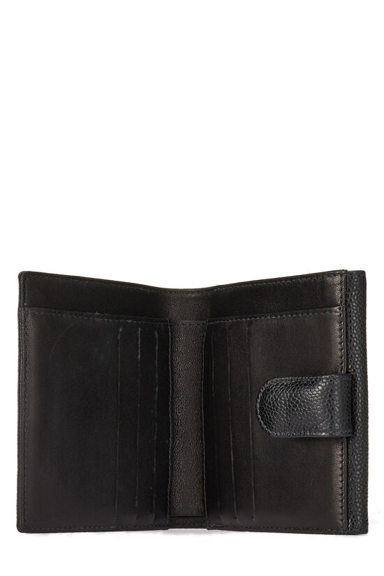 Black Caviar 'CC' Compact Wallet, , large image number 3