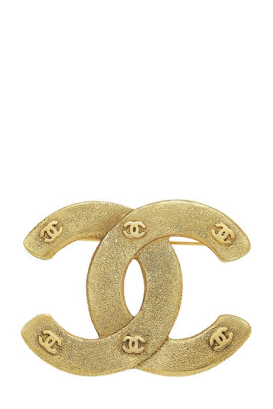 Gold 'CC' Pin, , large image number 0