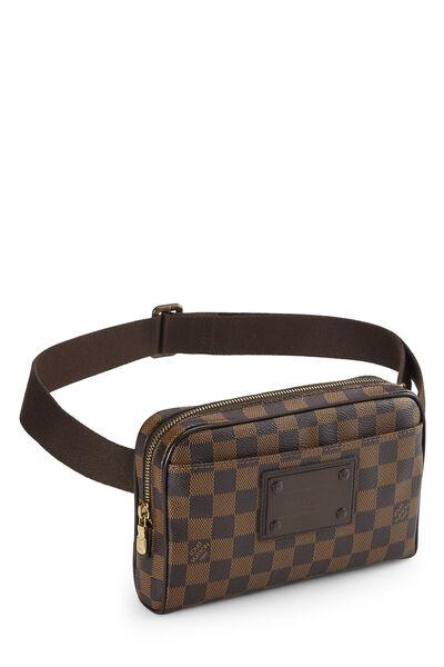 Damier Ebene Brooklyn Bum Bag, , large