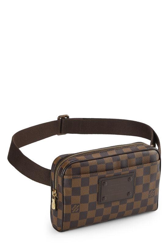 Damier Ebene Brooklyn Bum Bag, , large image number 1