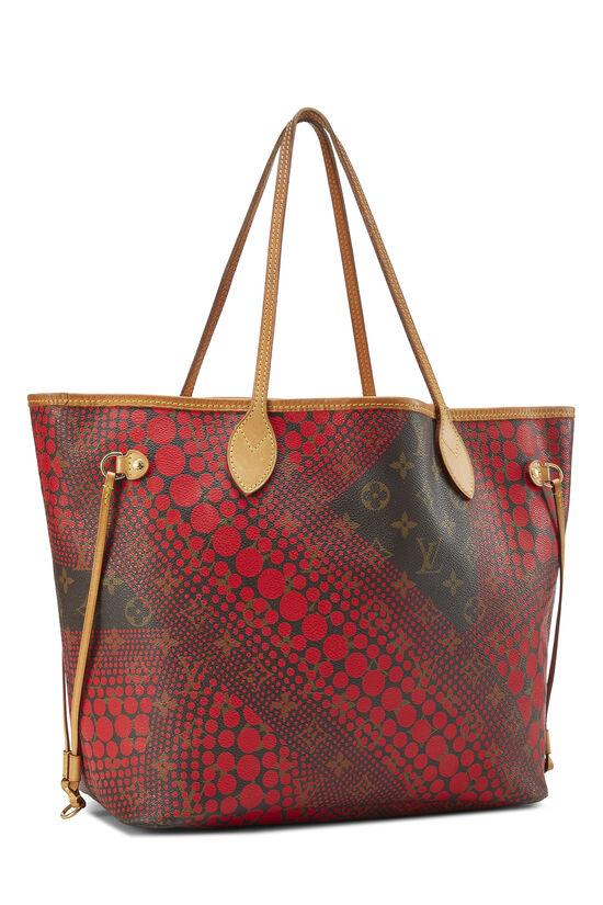 Yayoi Kusama x Louis Vuitton Red Monogram Dots Infinity Neverfull MM, , large image number 1