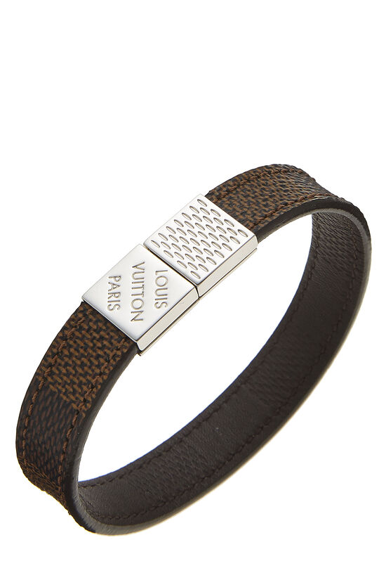 Damier Ebene Pull It Bracelet, , large image number 0