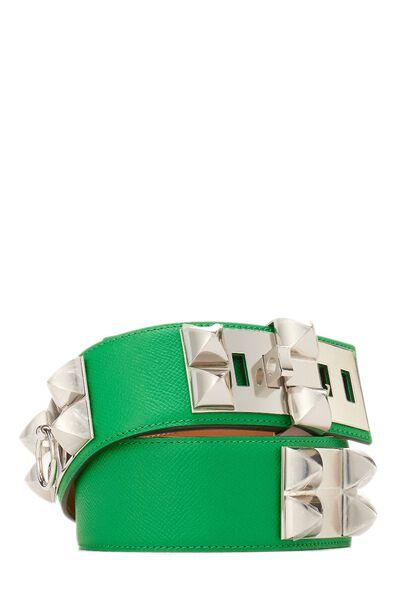 Green & Silver Collier de Chien 75