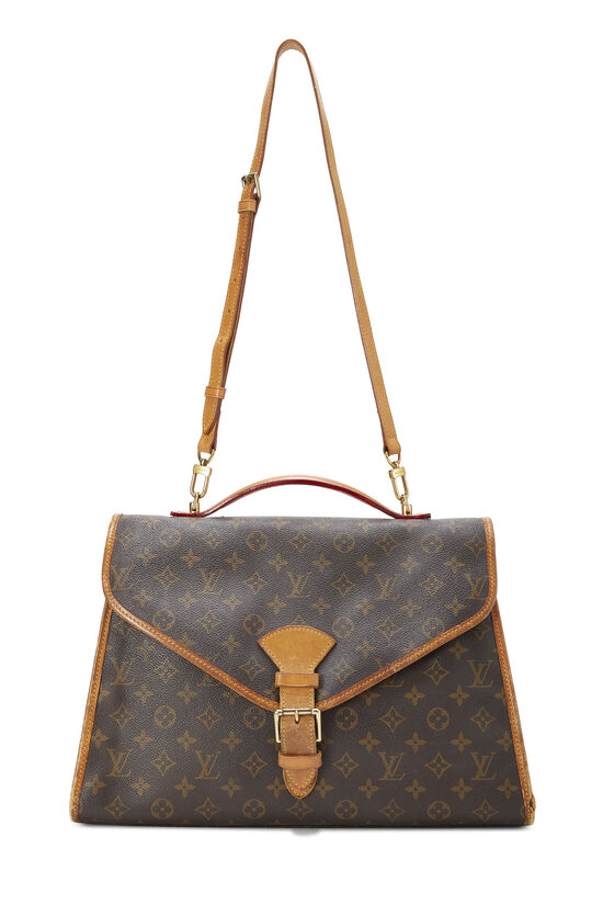 Monogram Canvas Beverly Briefcase, , large image number 6