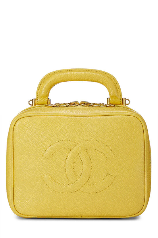Yellow Caviar Lunch Box Vanity, , large image number 0