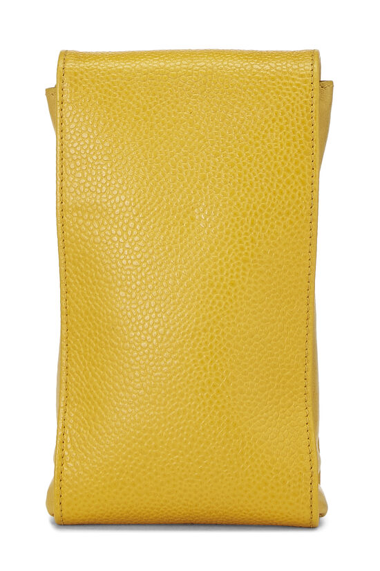 Yellow Caviar Timeless 'CC' Crossbody Pouch, , large image number 3